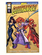 Wildstorm Cliffhanger Sketchbook #0 (1997, Wizard/Image) VF/NM J Scott Campbell