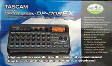 TASCAM - DP-008EX - Digital Portastudio 8-Track Portable Recorder