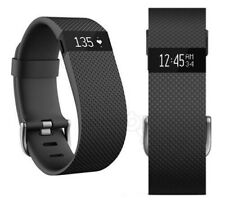 Genuine Fitbit Charge Fitness Wireless Activity Tracker Wristband BLACK Small