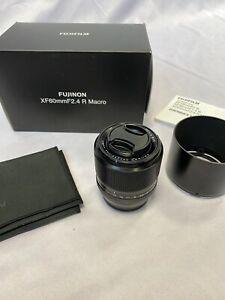 Fujifilm Fujinon XF60mm F2.4 R Makro Objektiv * top * OVP * Fuji Pro Service
