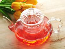 800ml Pumpkin Heat-Resistance Glass Teapot,Pyrex Coffee pot with filter,B06