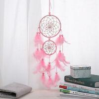 Pink Dream Catcher/ Girls Dreamlike Feather Dreamcatcher Wall Hanging Home Decor