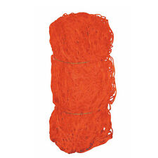 Alumagoal Orange Club Soccer Net - 8'H x 24'W x 5'D x 10'B (ONE PAIR)