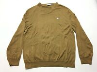 Southern Tide Mens Brown Long Sleeve V-Neck Sweater Size XL