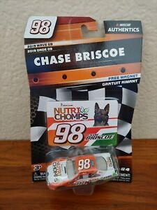 2019 Wave 9 Chase Briscoe Nutri Chomps 1/64 NASCAR Authentics Diecast $1 COMBINE