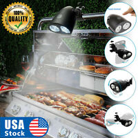USA BBQ Grill LED Light 360°Rotation Touch Sensor Switch Ultra Bright Barbecue