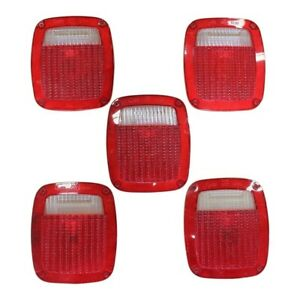 5 - Grote 9130 Replacement Lens Cover Brake Light Trailer Taillight Semi Volvo