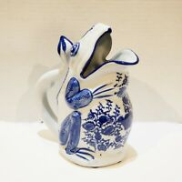 Frog Pitcher Jug Formalities by Baum Bros Large 9.25 Inches Vtg Figural