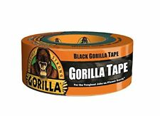 "Gorilla Duct Tape, 1.88"" x 12 yd., Black New"