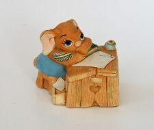 Pen Delfin Boswell Rabbit Figurine Desk Pendelfin Hand Painted Burnley England