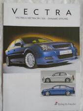 Vauxhall Vectra Irmscher styling brochure Dec 2002