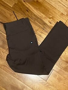 686 Men's EVERYWHERE Travel Pants / Relaxed Fit / New / 34 x 32 / Brown