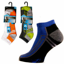 4 PAIRS MENS TRAINER SOCKS CUSHION SOLE SPORTS RUNNING DRIVING WORK GYM 6 - 11