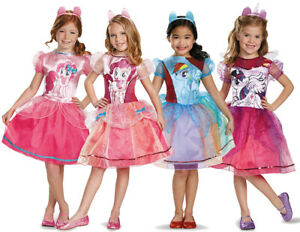 GIRLS MY LITTLE PONY COSTUME CHILDS KIDS TV BOOK CHARACTER OUTFIT FANCY DRESS