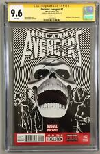 UNCANNY AVENGERS 2 CGC SS 9.6 1:200 SKETCH VARIANT COVER SIGNED BY JOHN CASSADAY