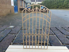 12th Scale Wrought Iron Effect Gate - (Design 2)