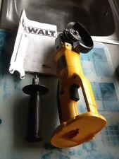 dewalt DC410n 18v cordless angle grinder?