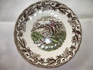 Englische Keramik Service Jagdmotiv 1 Unterteller Myotts Country Life