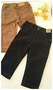 Life & Legend Corduroy Trousers in Oak and Ink colours