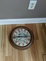 HEILEMANS SPECIAL EXPORT BEER MIRROR CLOCK SIGN BAR ADVERTISING OLD STYLE