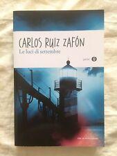 Le luci di settembre - Carlos Ruiz Zafon - Oscar Mondadori Junior 2013