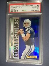 ANDREW LUCK 2013 Panini Cornerstones Prizm #2 PSA GEM MINT 10 Colts