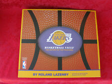 """Los Angeles Lakers Basketball Vault """"History of the Franchise"""" by Roland Lazenby"""