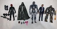 Marvel Legends MCU Lot (5) 10th Anniversary Ultron, Red Skull, Iron Man Figures