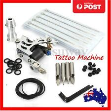 Pro Complete Tattoo Kit Machine Supply Gun Power Needles Grip Cord Equipment Set