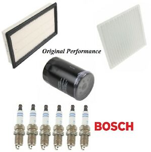 Tune Up Kit Filters Spark Plugs For FORD EDGE V6 3.5L (To 1/16/09) 2007-2009