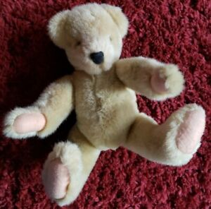 """Vintage 1982 VANDERBEAR Twin NORTH AMERICAN BEAR CO JOINTED POSABLE PLUSH 12"""""""