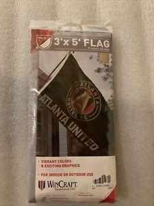 MLS Atlanta United FC Flag Banner 3'×5', Brand New