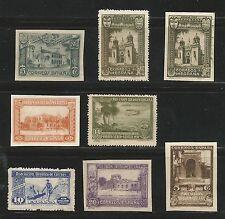 Sevilla 1930 IBEROAMERICANA, 8 valores ★★ MNH Correo Correo Aereo Cartero Rural