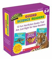 Guided Science Readers Parent Pack E-F Box Set 12 Fun Nonfiction Books