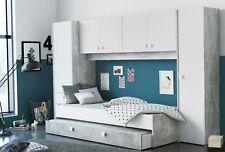 Pack dormitorio juvenil cama con cajonera y armario NO incluye somier ni colchon