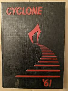 THE GRINNELL IOWA COLLEGE CYCLONE FOR 1961, Yearbook, Annual, Hardcover