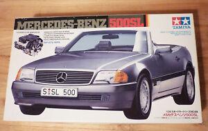 Mercedes-Benz 500SL Tamiya 1/24 Model Kit #24099