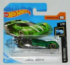 HOT WHEELS X-RAYCERS SERIES LINDSTER PROTOTYPE SHORT CARD