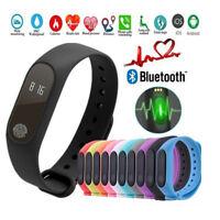 Smart Bracelet Watch Wristband Sleep Heart Rate Monitor Activity Tracker RGHN