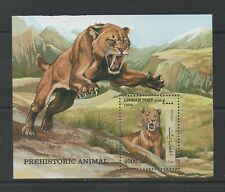 Thematic Stamps Animals - AFGHANISTAN 1998 PREHISTORIC MS mint