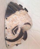 Alte afrikanische Holzmaske Maske 3