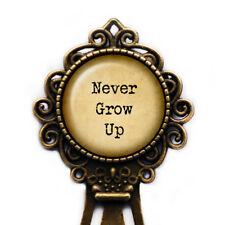 """Peter Pan """"Never Grow Up"""" Bookmark"""
