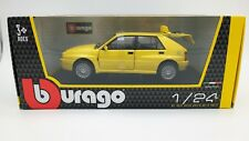 MODELLINO AUTO LANCIA DELTA INTEGRALE BURAGO SCALA 1:24 CAR MODEL MINIATURE