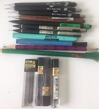 Lot of Drafting pencils and lead plus