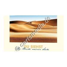KARTE MIT CD: Du siehst die Wüste meiner Seele (Krisenzeit) Albert Frey, CD-Card