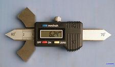 Digital Readout Welding Gauge Weld Test Ulnar Both Metric & Inch Conversion