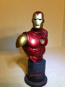 "The INVINCIBLE IRON MAN bust "" SIGNED "" by "" BOWEN "" Only 1 "" SIGNED ""on EBAY!"