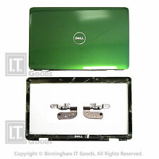 Dell 1545 1546 PP41L Cover Lid Dark Green Glossy Bezel NO Cam Port 0N646J Hinges