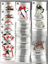 (58) 12/13 SP HOCKEY GOALIES CARD LOT-BRODEUR-ROY-PRICE & MORE!!!
