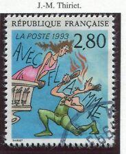STAMP / TIMBRE FRANCE OBLITERE N° 2840 BD BONNE FETE